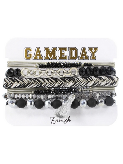 Gameday Mixer Stack in Black/Silver