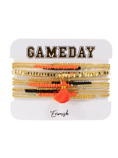 Gameday Pete Slinky Stack in Orange