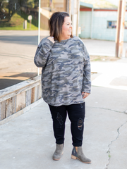 The Karson Top in Camo