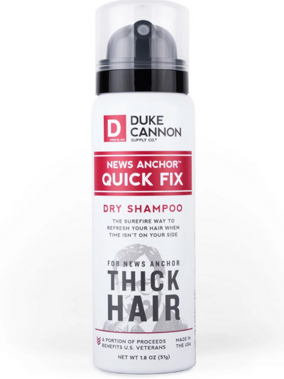 NEWS ANCHOR QUICK FIX DRY SHAMPOO - TRAVEL SIZE