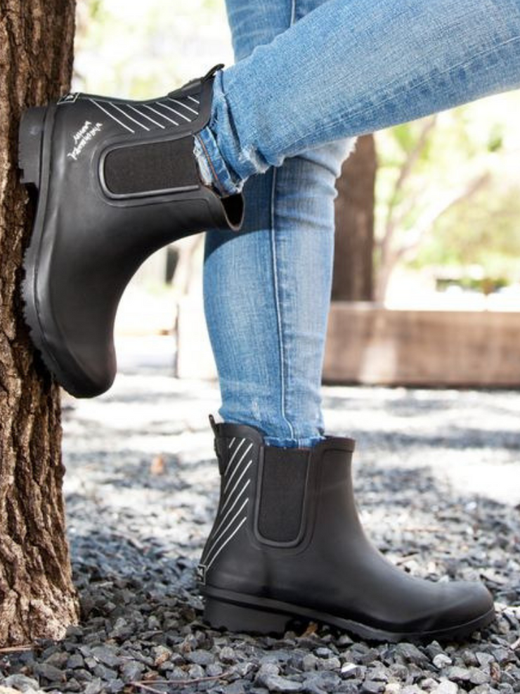 The Warrior Roma Boot-Black