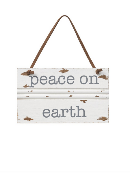 Peace On Earth Trim Ornament