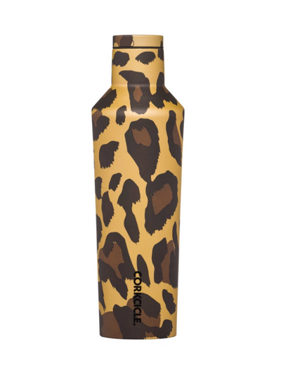 Corkcicle- 16oz Canteen Luxe Leopard