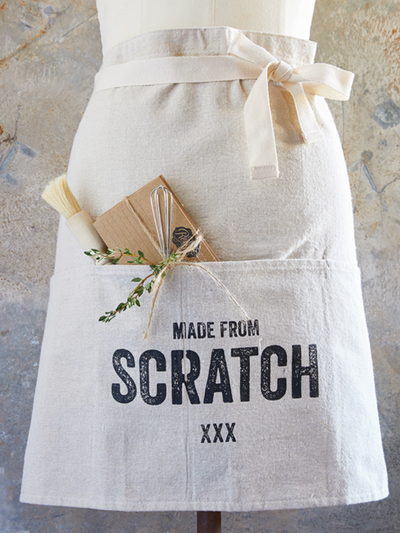 Flour Sack Apron- Hairloom
