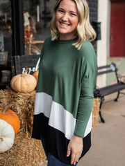 The Annabeth Top in Green