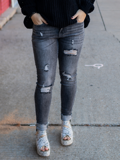 The Blaire Grey Jeans