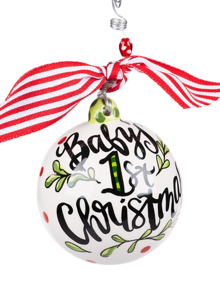 Christmas Ornament -Neutral Baby's 1st Christmas