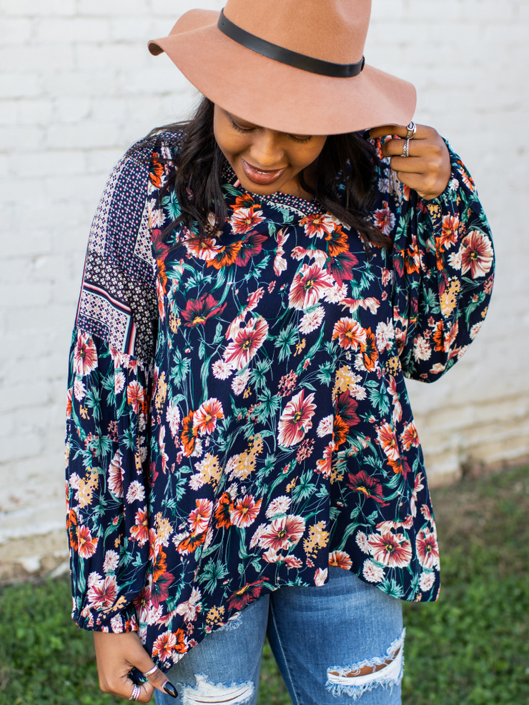 The Monica Floral Top