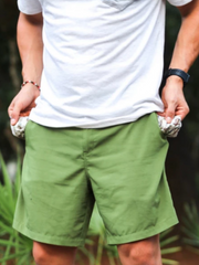 Performance Fishing Shorts- Olive