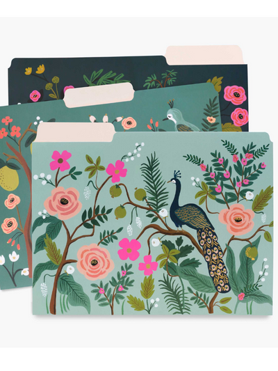 Shanghai Garden File Folder Set