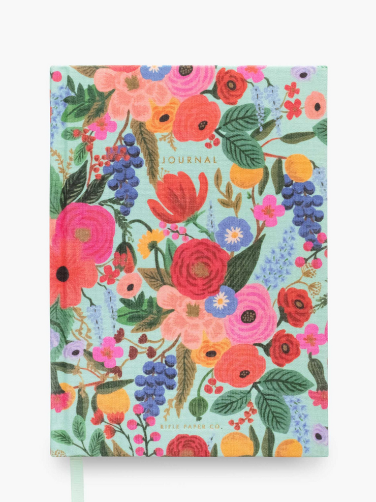 Rifle Paper Company-Fabric Journal- Garden Party