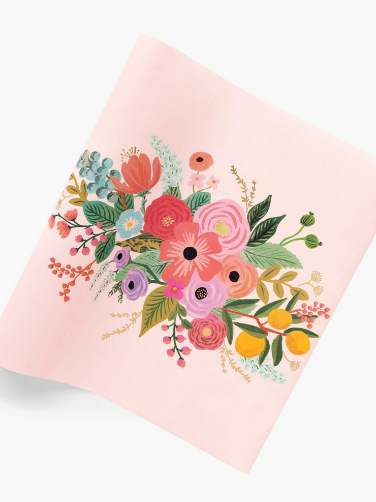 Paper Table Runner- Garden Party