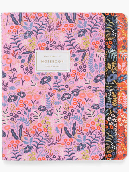 Stiched Notebook Set- TAPESTRY