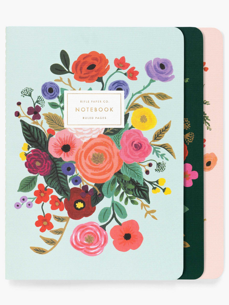 Stiched Notebook Set- Garden Party