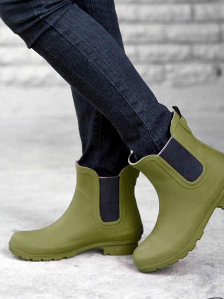 The Chelsea Roma Boot-Matte Olive