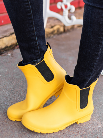 The Chelsea Roma Boot-Matte Mustard
