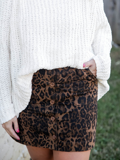 Wild About Fall In Leopard