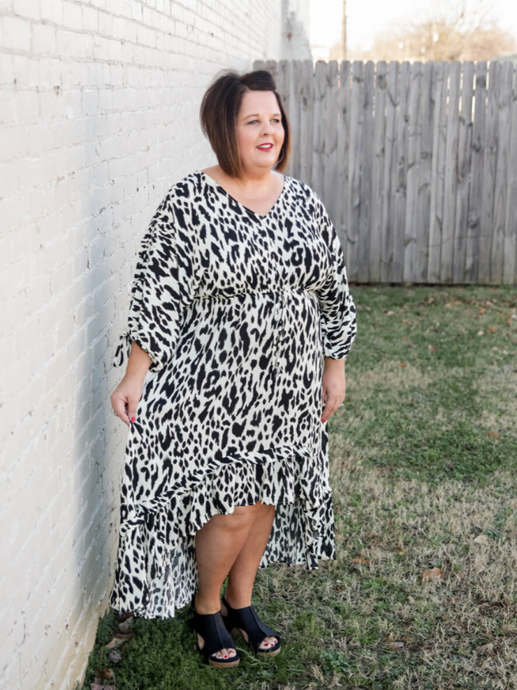 Lover Of Life Leopard Dress