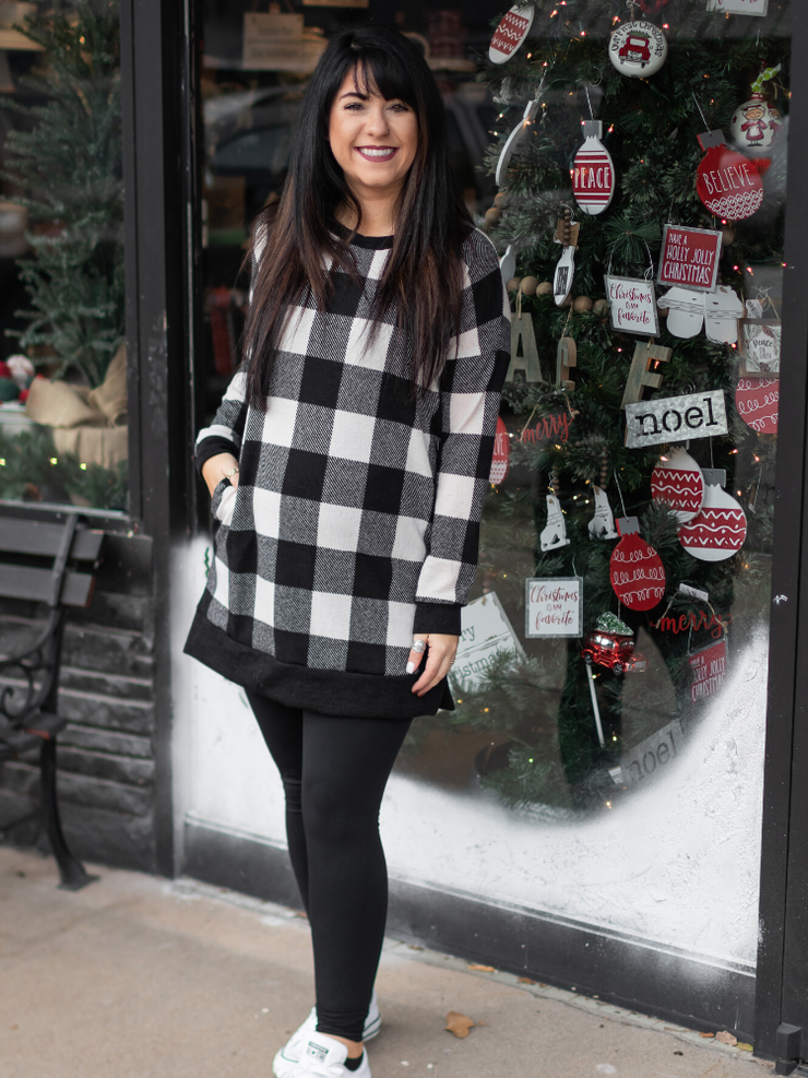 Central Park Tunic In Black