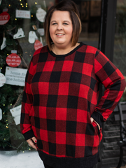 Central Park Tunic In Red