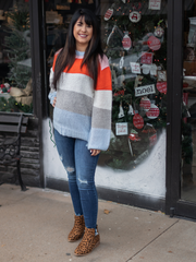 Southern & Proper Striped Sweater