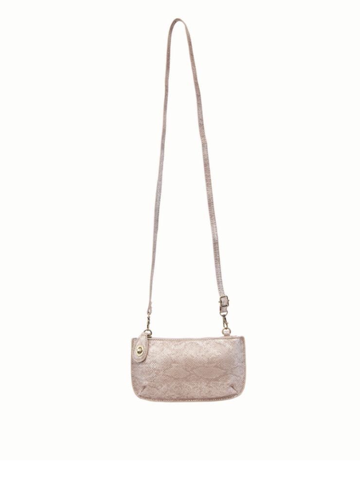 Lux Crossbody & Wristlet- Natural Python