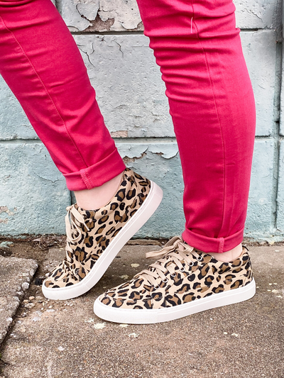 The Puzzle Leopard Sneaker
