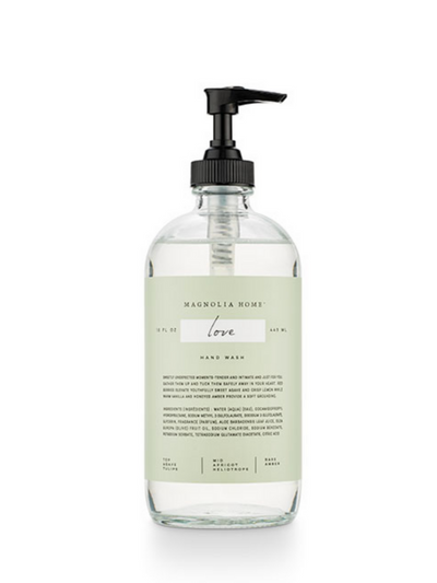 Glass Hand Wash- Love