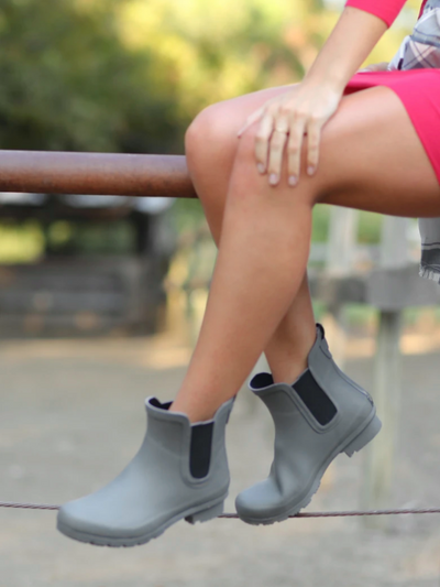 The Chelsea Roma Boot-Matte Grey