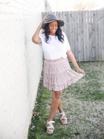 The Darling Spotted Skirt