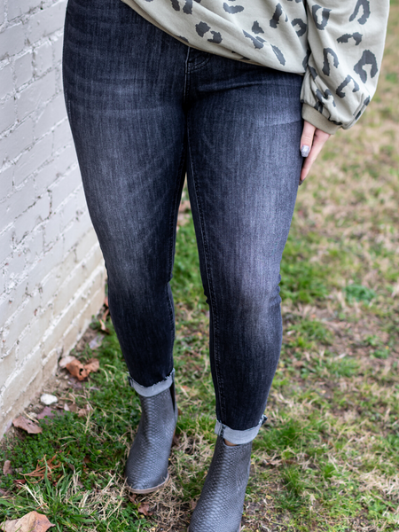 The Morgan Skinnies In Grey