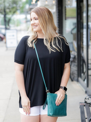 Piko Top Short Sleeve- BLACK
