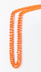 Long Small Beaded Necklace