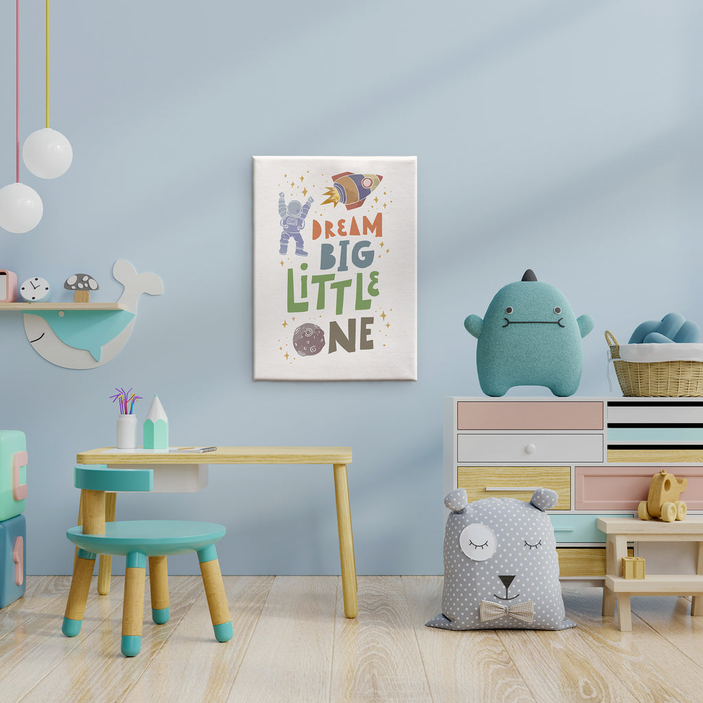 Kids Art - Dream Big Little One