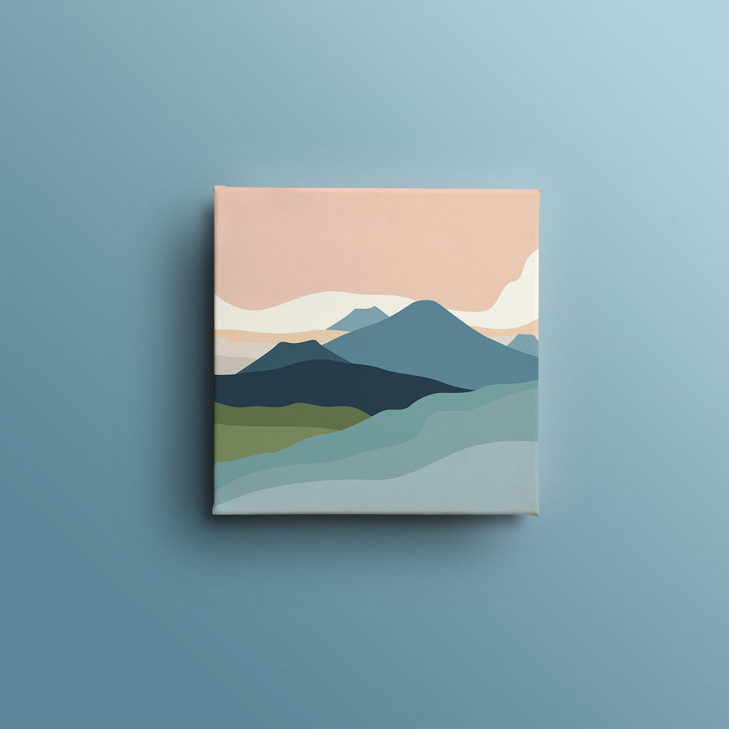 Mountain and Cloud 2 - medinatart