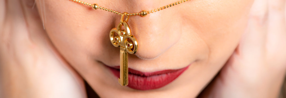 Necklace with ABAS key pendant | ABAS FASHION ACCESSORIES