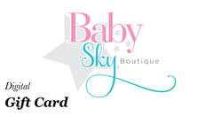 Gift Card Baby Sky Boutique