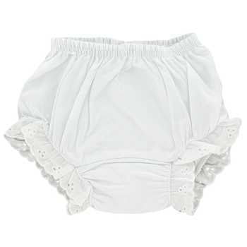 White Diaper Cover