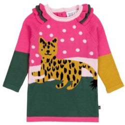 Cheetah Knitted Sweater