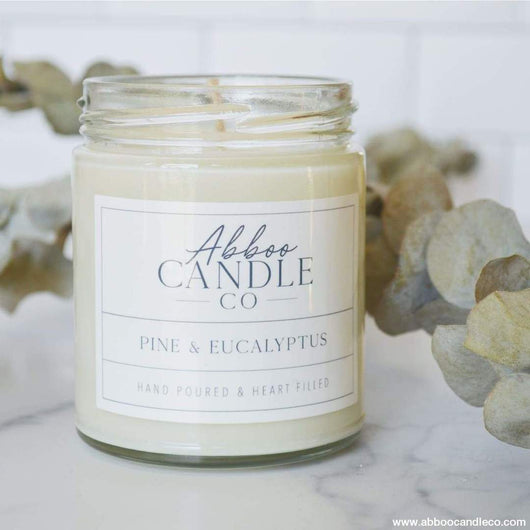 Pine and Eucalyptus Candle