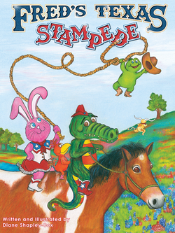 Fred's Texas Stampede Children's Book