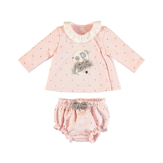 Baby Rose Short Set