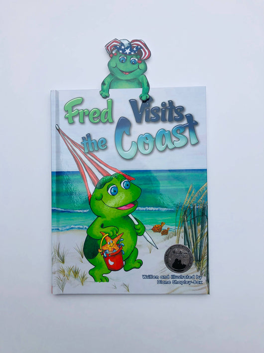 Fred Visits the Coast Children's Book