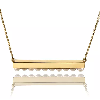 20K Gold Horizon Necklace
