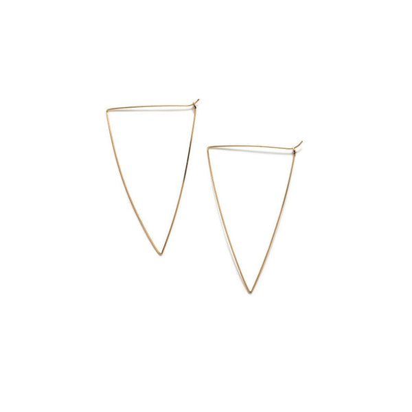 Triangle Hoops, Small