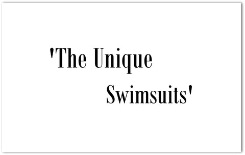 The unique swimsuits available only  online in Freeze the breeze store