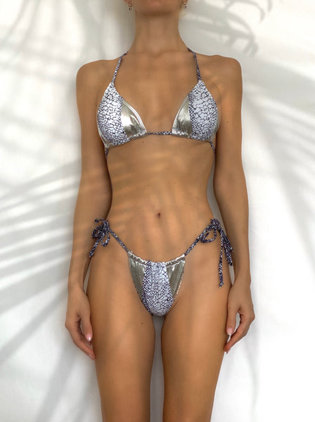Silver breeze bikini set