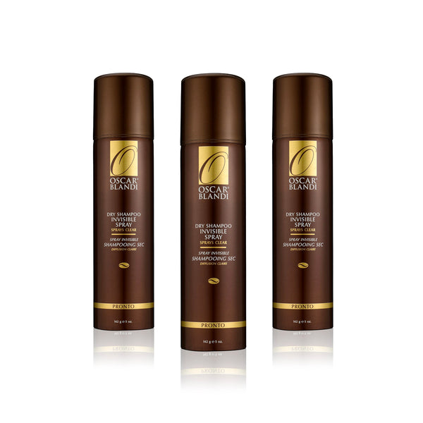 Pronto Invisible Dry Shampoo Spray 3-pack