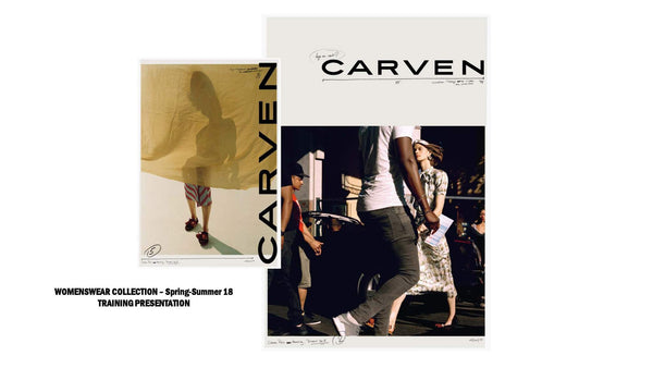 Carven Spring-Summer 18 Training Presentation