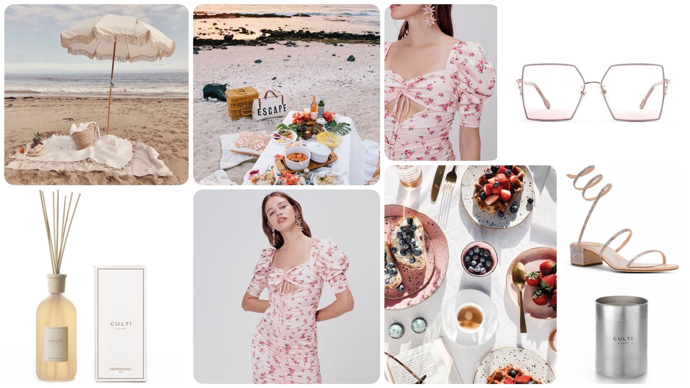 Picnic Essentials, outfits, candles, sunnies, sun glasses, sandles, dresses, for love & lemons and so much more!